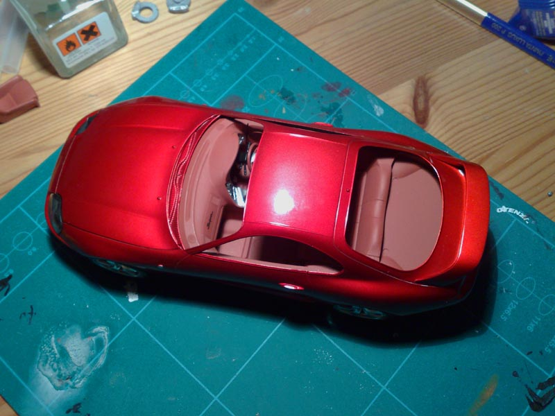 Modelbouw toon onderwerp toyota supra candy red 1 24 tamiya 21 11 laaste - Ampm ophanging ...