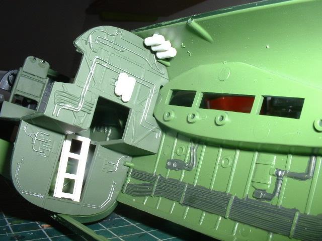 Modelbouw toon onderwerp revell b 24 for Trap kaal maken