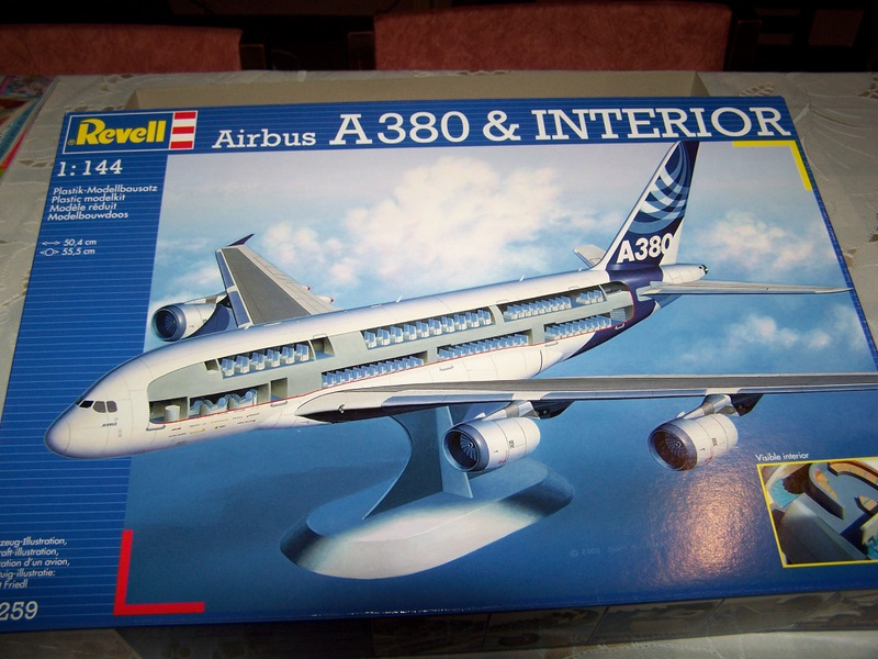 Modelbouw toon onderwerp a380 airbus for Airbus a380 photos interieur