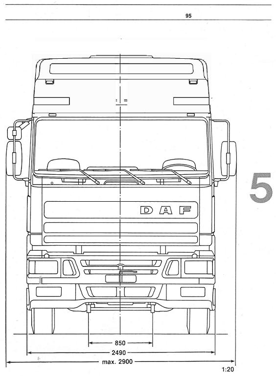 Daf Xf Kleurplaten.Vrachtwagen Daf Xf Kleurplaat Kleurplaten Daf Oldtimer Trucks Dotc