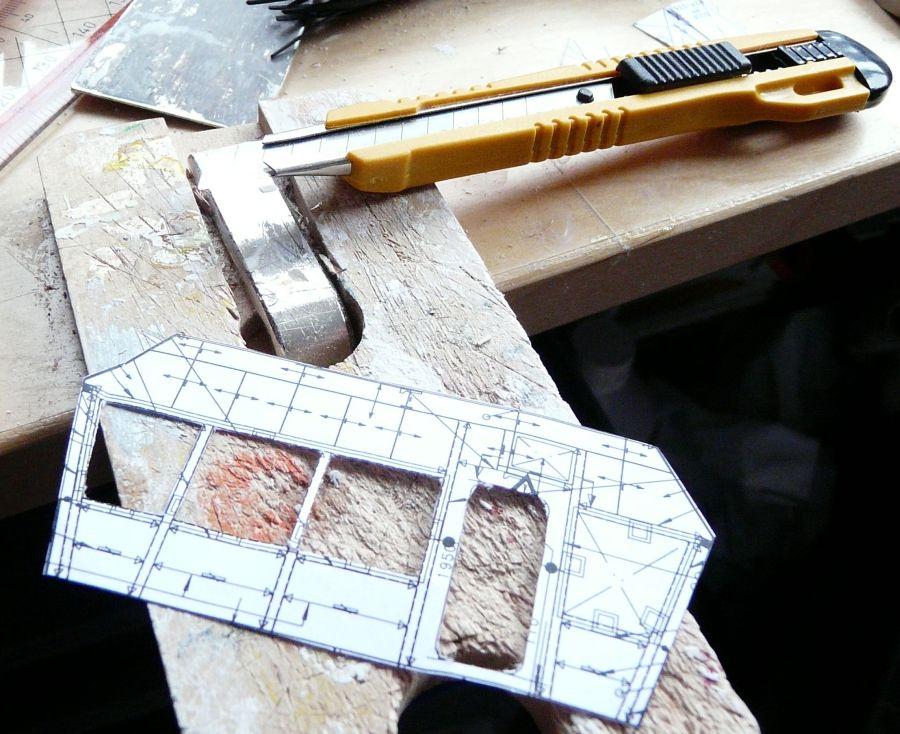 Modelbouw toon onderwerp bouw diving for Tekening op schaal maken