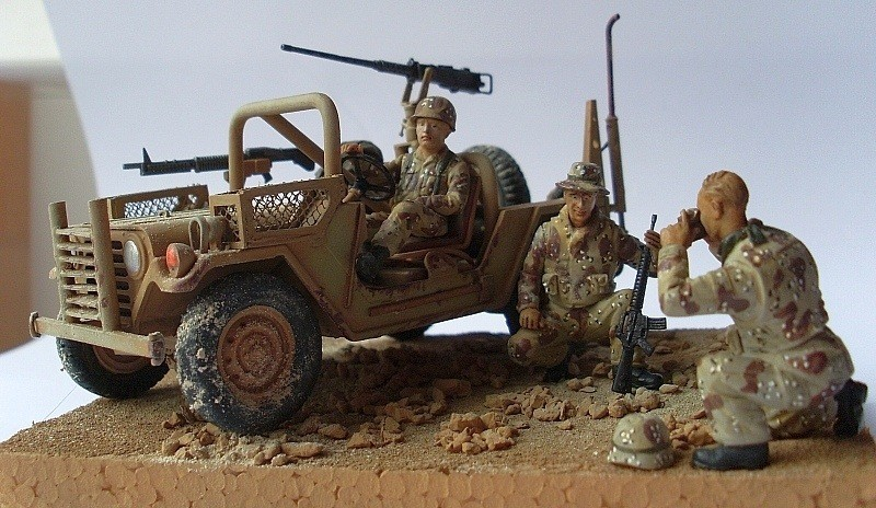 M151A2 Fav http://worldwartwozone.com/forums/index.php?/topic/13420-desert-storm-usmc-m151a2-fav/
