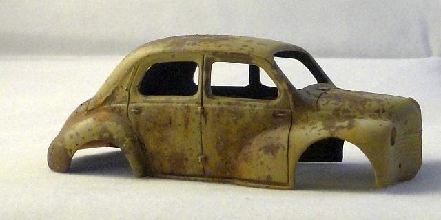 Modelbrouwers.nl modelbouw ? Toon onderwerp - Renault 4cv dans un ...