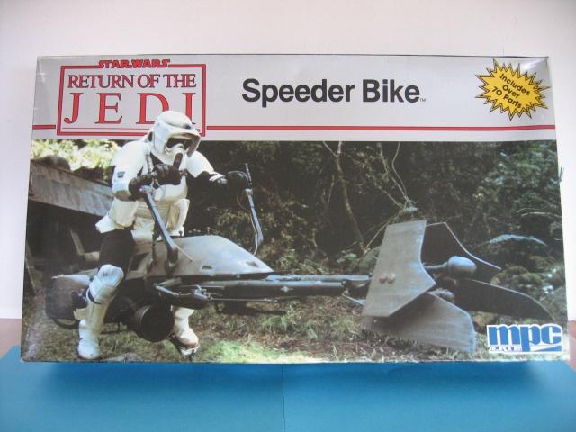 Toon onderwerp 74 z speeder bike mpc ertl klaar eindfoto s