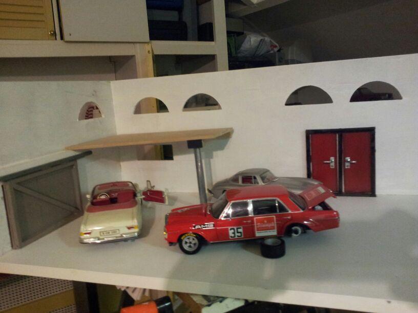 Modelbouw toon onderwerp mercedes for Garage mercedes 93 bondy