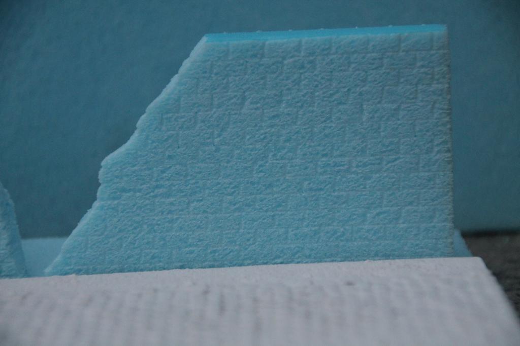 Modelbouw toon onderwerp marseille 1944 update 01 02 - Hoe kleed je een witte muur ...