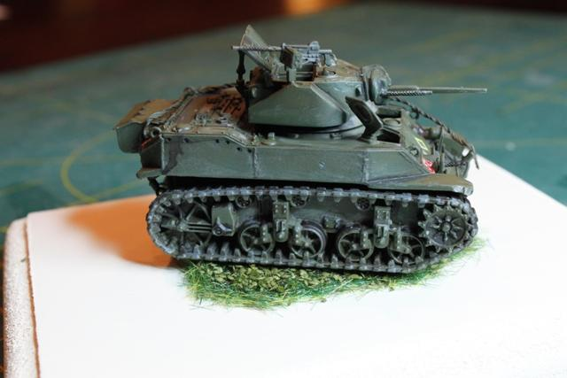 Stuart Taylor Locoblade Extras: PSC Stuart M5A1 With Some Extras In 1/72