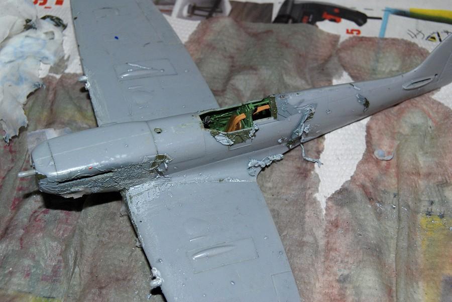 Modelbouw toon onderwerp makkelijk verf verwijderen zonder het plastic aan - Verfmodel voor de gang ...