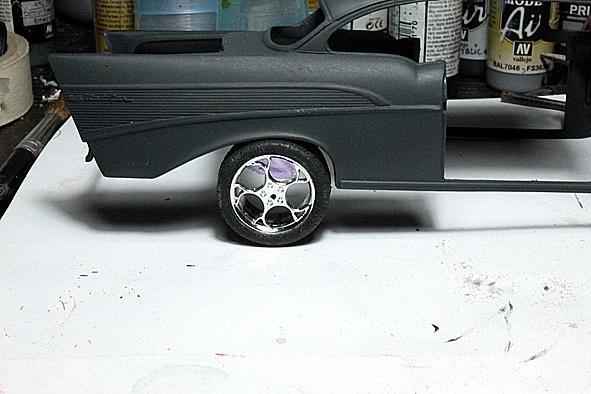 Modelbrouwersnl Modelbouw Toon Onderwerp Chevy 57 05