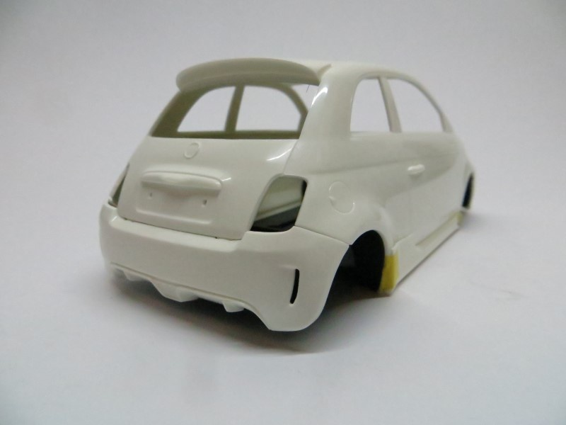 View Topic Fiat 500 Abarth Completed