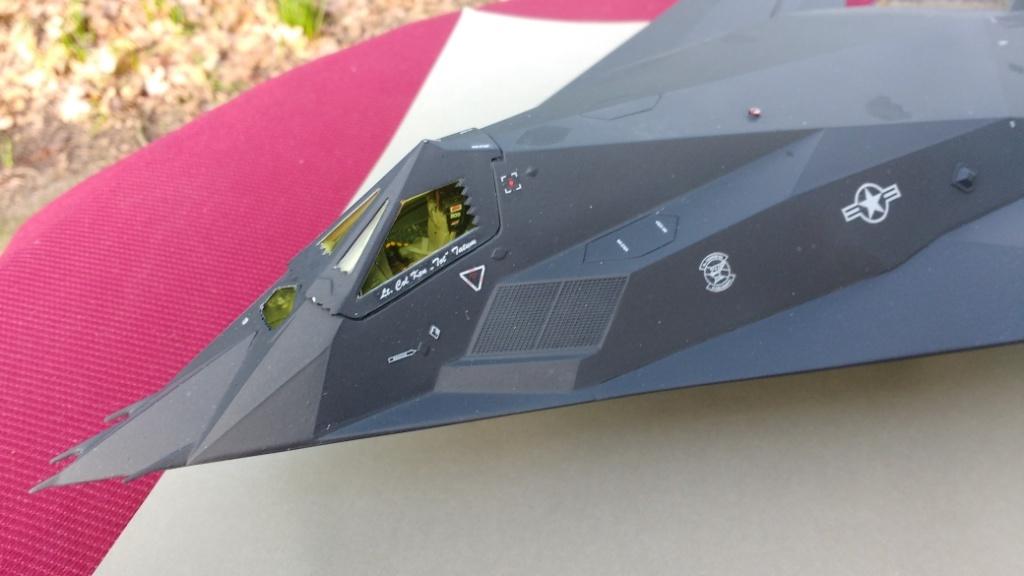 Modelbouw toon onderwerp f117a nighthawk revell 1 48 klaar - De naad bouwen ...