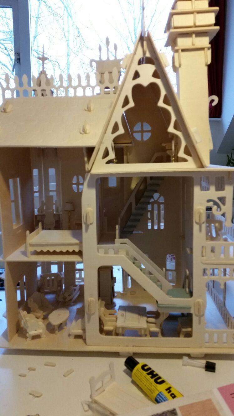 Villa Kakelbont Poppenhuis.Modelbrouwers Nl Modelbouw Toon Onderwerp Villa Fantasia