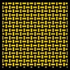 1:12 Kevlar Basket Weave Yellow / Black Composite Fiber