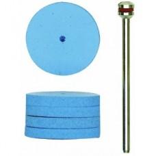 elastische siliconen polijststenen in lens-,schijf- en conische