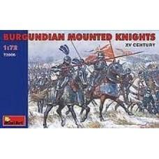 1:72 MiniArt   72006 Burgundian Mounted Knights