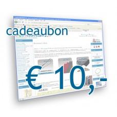 Modelbouw Cadeaubon 10 Euro