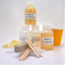 Resin en rubber gietset Oranje Siliconen
