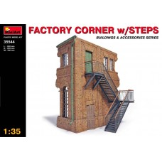 1:35 MiniArt Factory Corner with Steps