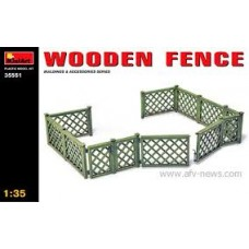 1:35 MiniArt Wooden Fence
