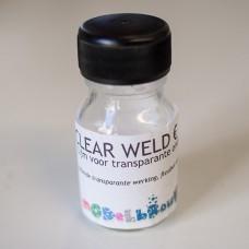 Clear Weld, lijm voor transparante onderdelen