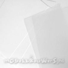 Polystyreen plaat wit 0,5 mm