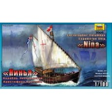 1:100 Zvezda 9005 Nina Christopher Columbus Expedition Ship